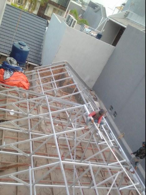 ganti atap baja ringan